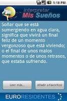 Screenshot of Mis Sueños