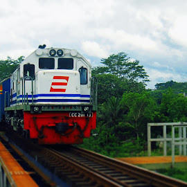 by Indra Kurniawan - Transportation Trains