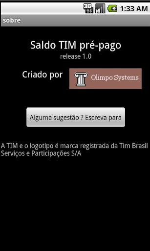 【免費通訊App】Saldo Pré-Pago TIM-APP點子