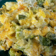 Broccoli-Cauliflower Gratin (Scd)