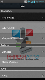 PHresh Apps - screenshot