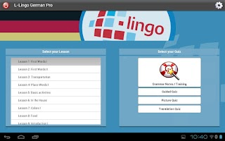 Screenshot of Z_L-Lingo Learn German HD