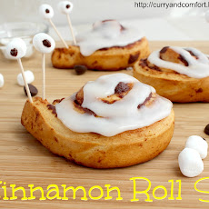 Cinnamon Roll Snails