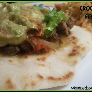 Crock-pot Fajitas
