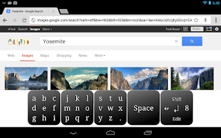 Screenshot of Bauer Keyboard