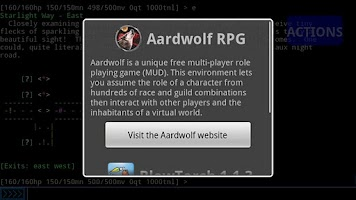 Screenshot of Aardwolf RPG