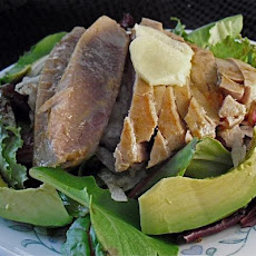 Wasabi Seared Tuna Salad