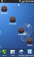 Screenshot of Reboot Widget (root)