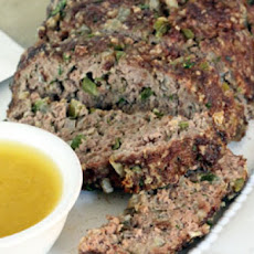 Ina Garten's 1770 House Meatloaf with Garlic Sauce
