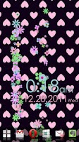 Screenshot of Flower Flow! Live Wallpaper