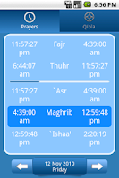 Screenshot of Muslim helper