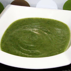 Spinach-Leek Cream Soup