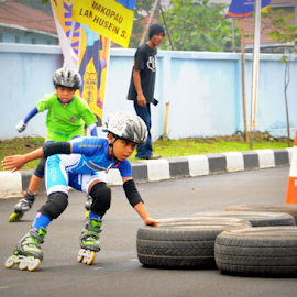 speed inline by Robert Antonius - Sports & Fitness Other Sports ( skate competition, rollerblade, fun skate, inlineskat, race )