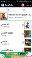 Screenshot of OctroTalk