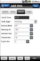 Screenshot of BillBot Time and Billing