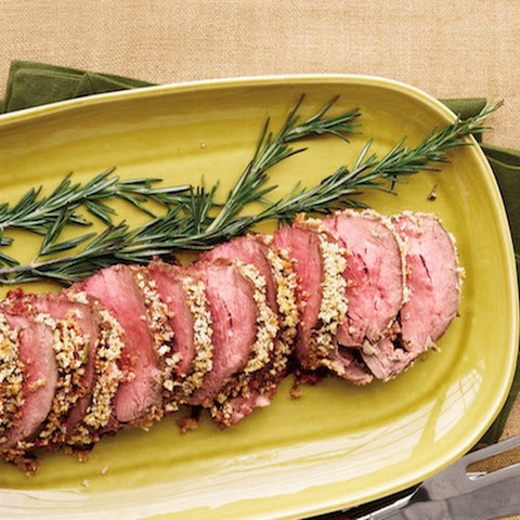 Panko-Crusted Beef Tenderloin