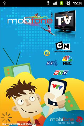 mobifone-mobile-tv for android screenshot