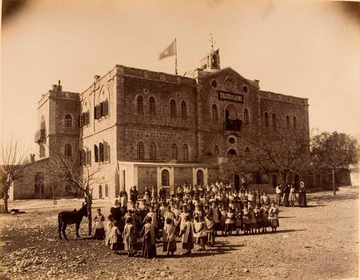 The Prussian School for Girls in Jerusalem
