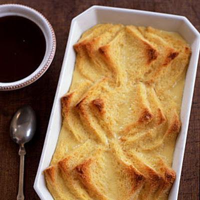 Toasted Bread-and-Butter Pudding