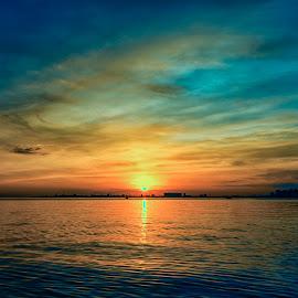 Horizon by Doc Gio Gange Dmdrn - Landscapes Sunsets & Sunrises