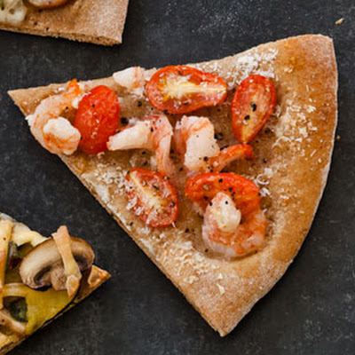 Shrimp and Garlic Pizza (Instant Get-Together)