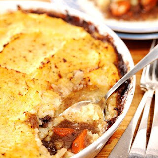 Shepherd's Pie with Rutabaga Topping