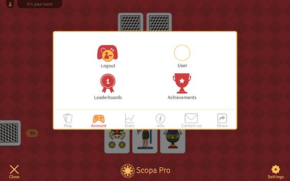 Scopa Pro APK screenshot thumbnail 8