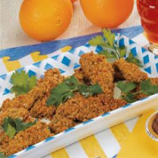 Nutty Chicken Fingers