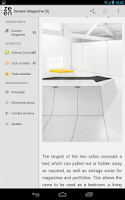 Screenshot of Dezeen Magazine RSS Reader