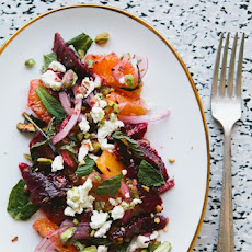 Sicilian–Inspired Blood Orange Salad