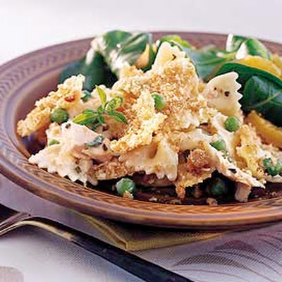 Farfalle and Tuna Casserole