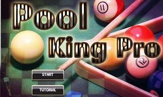 Screenshot of Pool King Pro