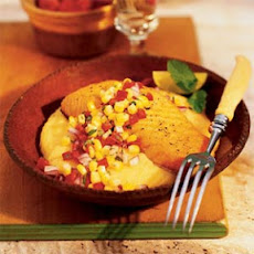 Broiled Salmon with Corn Relish