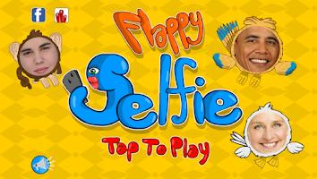Screenshot of Flappy Selfie