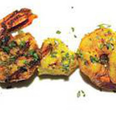 Curried Shrimp with Pineapple