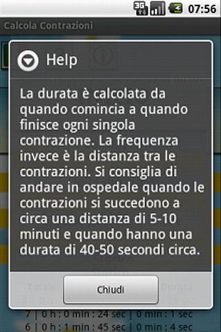 【免費健康App】Contractions Calculates-APP點子
