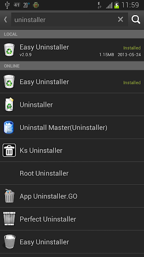 Easy Installer - Apps On SD - screenshot