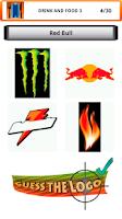 Screenshot of Logo quiz brands