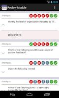 Screenshot of MyLab/Mastering Study Modules