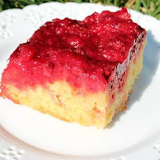 Strawberry Pineapple Upside-Down Cake