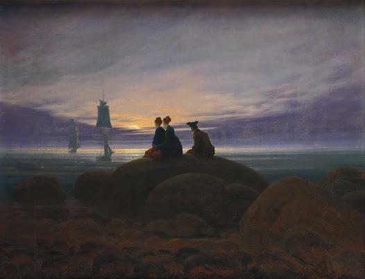 Fiedrich Caspar David, Luna sul mare