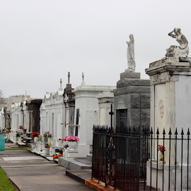 New Orleans Cemetery by Christie Henderson - Novices Only Objects & Still Life ( st. louis cemetery )