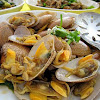Salt Baked Clams 盐烧啦啦