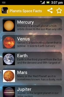 Kids Science Planets Space- screenshot