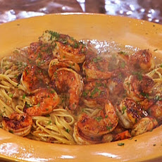 Smokin' Dave's Cafe's Fiery Cajun Shrimp Alfredo