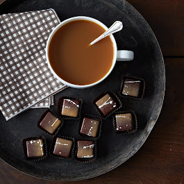 Brown Butter Bourbon Caramels, 2 Tins