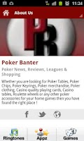 Screenshot of Poker Banter Shop