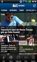 Screenshot of Blic