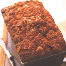 Quick Apricot, Apple and Pecan Loaf Cake