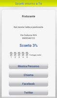 Screenshot of Sconti BancoPosta